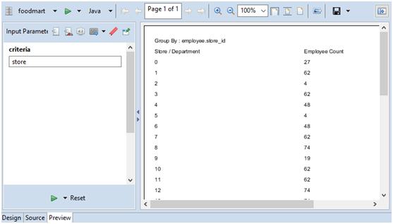 Dynamic Grouping using Parameter : Passing Parameters in